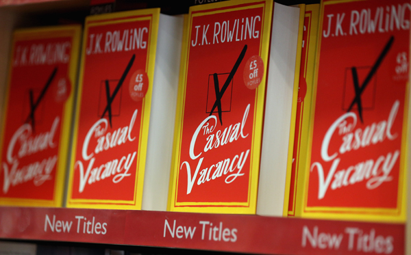 """J.K. Rowling's First Novel For Adults """"The Casual Vacancy"""" Hits The Shops"""