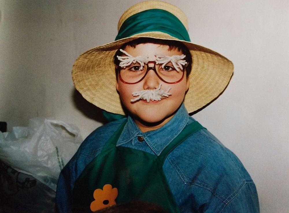 Dani, a fonalbajuszos kiskertész
