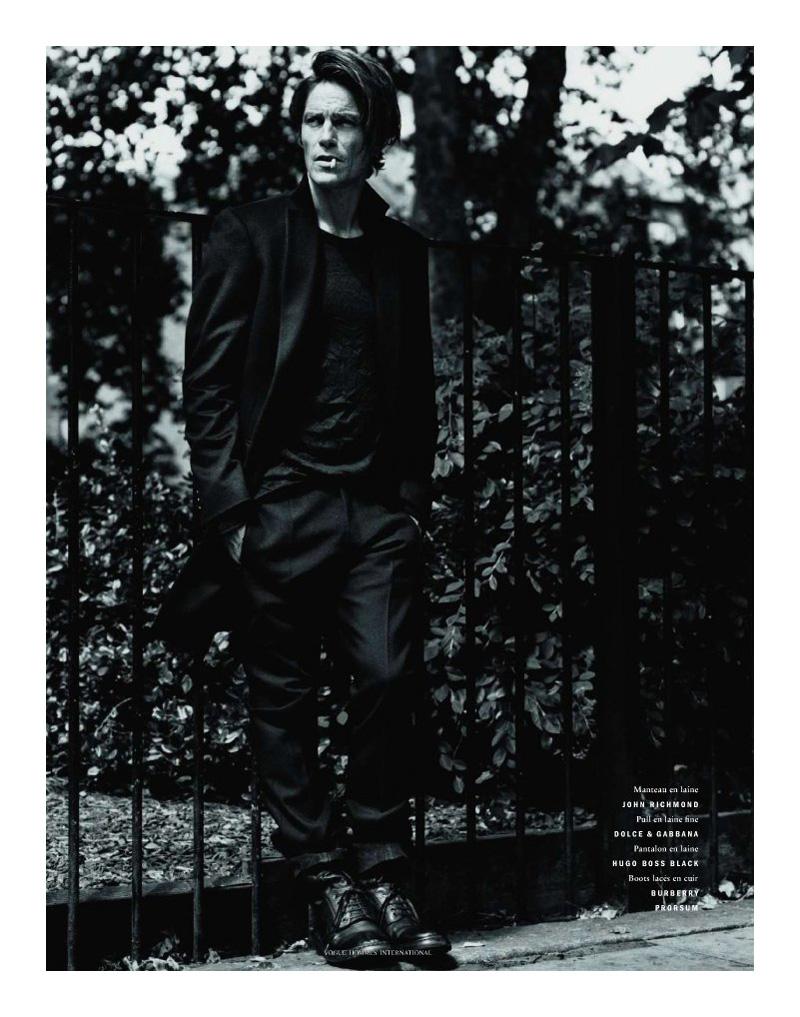 André van Noord a Vogue-ban